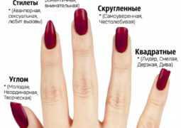 Что может рассказать о вашей личности форма ногтей?