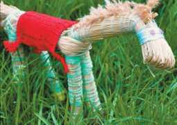 Первая поделка лета: лошадка из травы. Мастер-класс с фото