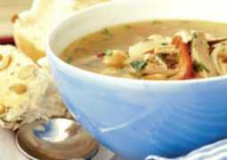 Пикантный суп из индейки