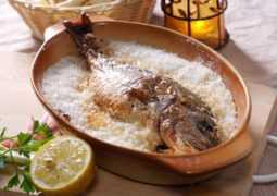 Рыба, запеченная в соли